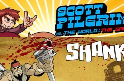 This Wednesday: Shank and Scott Pilgrim beat up XBLA