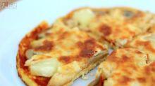 【食譜】狸貓換蟹籽!呢個pizza到底用咩整?