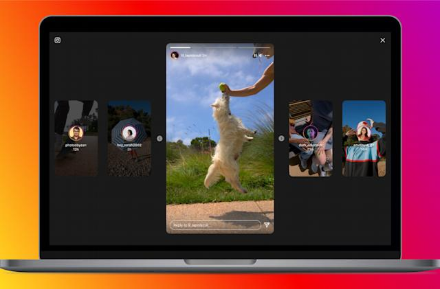 Instagram rolls out its new look for Stories on desktop