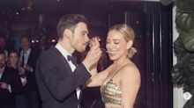 Hilary Duff's Wedding Reception Included A Super Glam Outfit Change