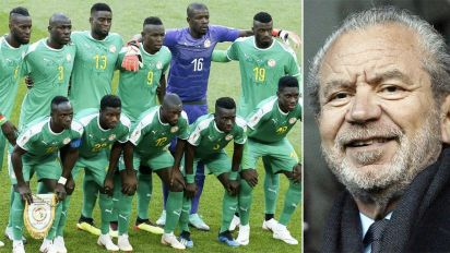 TV star apologises over 'racist' Senegal tweet