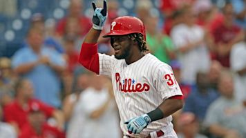 Phillies' Herrera on a historic offensive tear