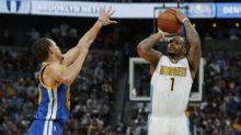 Shorthanded Nuggets crush Warriors with record-tying 24 3-pointers