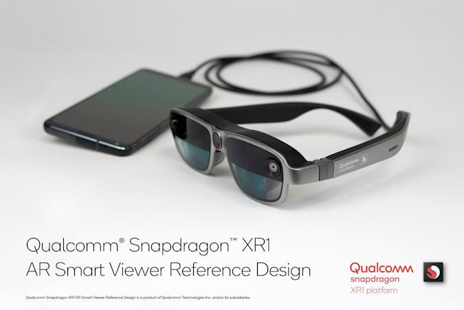 Qualcomm XR1 AR smart viewer reference design