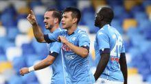 Doblete de Lozano en goleada del Napoli ante Genoa