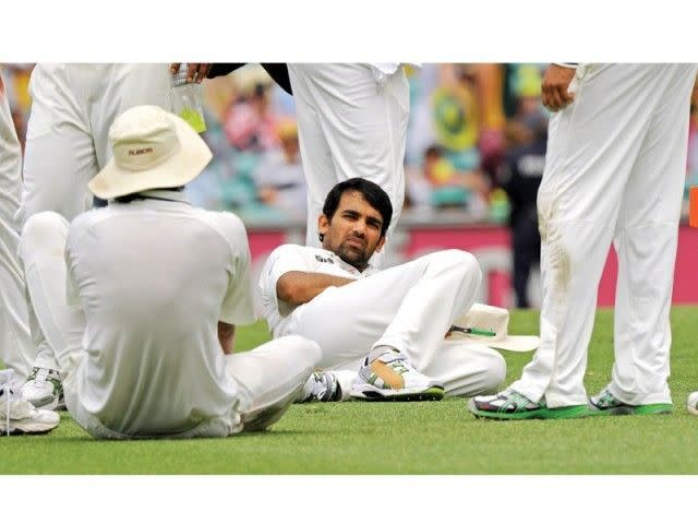In the 2011-2012 series, Australia added an astounding 836 runs for the loss of just 2 wickets
