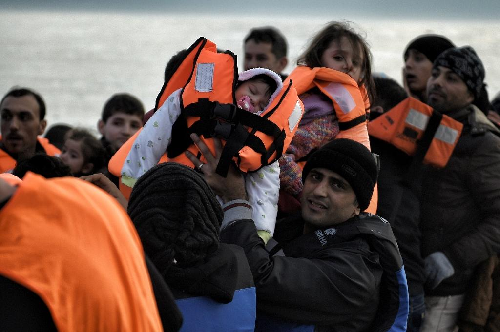 EU leaders want Turkey's cooperation in slowing the flow of migrants from Turkey to Greece, the main entry point to Europe (AFP Photo/Aris Messinis)
