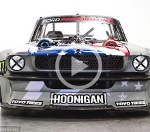 "Drive Wire for October 13th, 2016: Ken Block Reveals 1,400-HP Twin-Turbo ""Hoonicorn"" Ford Mustang"