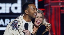 John Legend and Kelly Clarkson accused of 'destroying' Christmas classic 'Baby, It's Cold Outside' with new lyrics