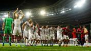 Kabinenbild der Bayern & Diss gegen Kimmich