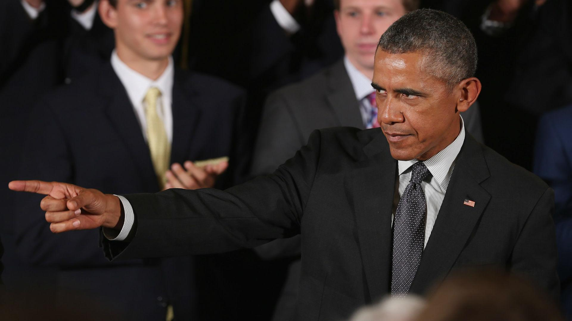Thanks, Obama: Barack-etology blamed for Virginia's NCAA Tournament collapse