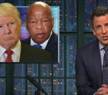 Seth Meyers takes 'A Closer Look' at Trump's groundless attacks on John Lewis