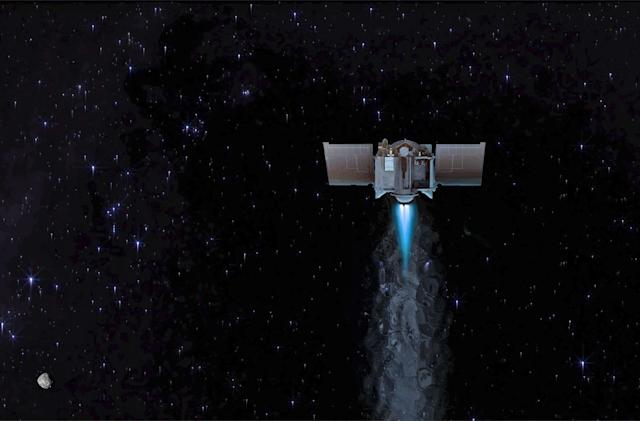 NASA's OSIRIS-REx asteroid probe begins its two-year journey back to Earth