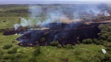 Images show Hawaii's Big Island before and after volcanic eruptions