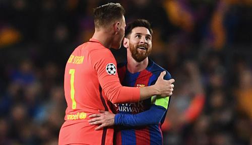 """Primera Division: Ter Stegen: """"Über Messi brauchen wir nicht reden"""""""