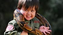Young Animal Wrangler, 3, Ignites Online Controversy