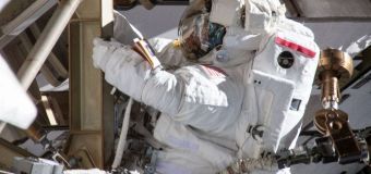 Lack of well-fitting suits ends historic spacewalk