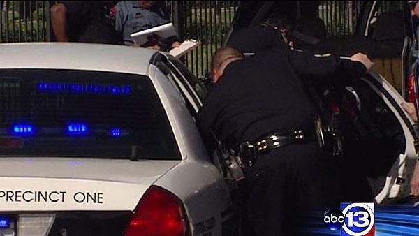 Two suspects in custody after robbery spree in N. Houston