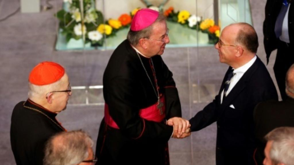 Pope's former envoy to France goes on trial for alleged sexual assault