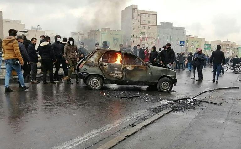 Protests in Iran against petrol price hikes and rationing have left one dead and more injured