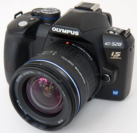 Olympus E-520 announced, previewed