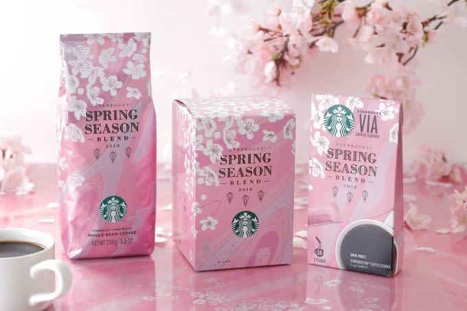 Starbucks 櫻花咖啡豆