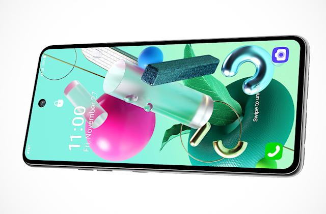 LG joins the cheap 5G phone race with the K92