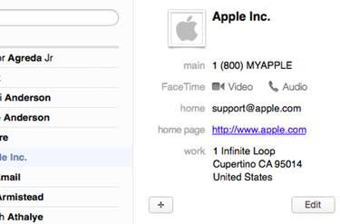 Mac 101: Use this tip to easily map a contact's address in OS X Mavericks