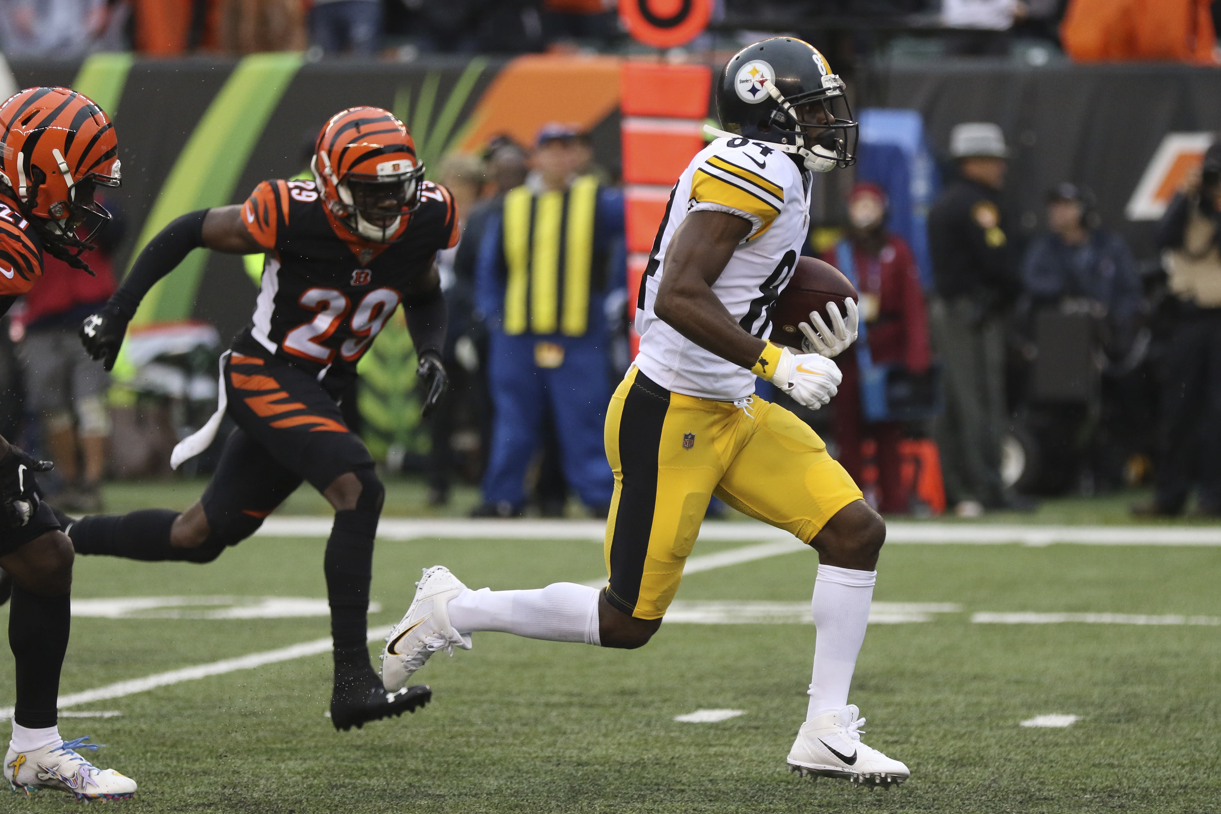 NFL: Steelers' game-winning touchdown to Antonio Brown was a legal play