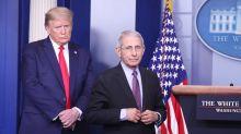 """Trump llama """"idiota"""" al epidemiólogo jefe de EEUU y amenaza con despedirlo"""