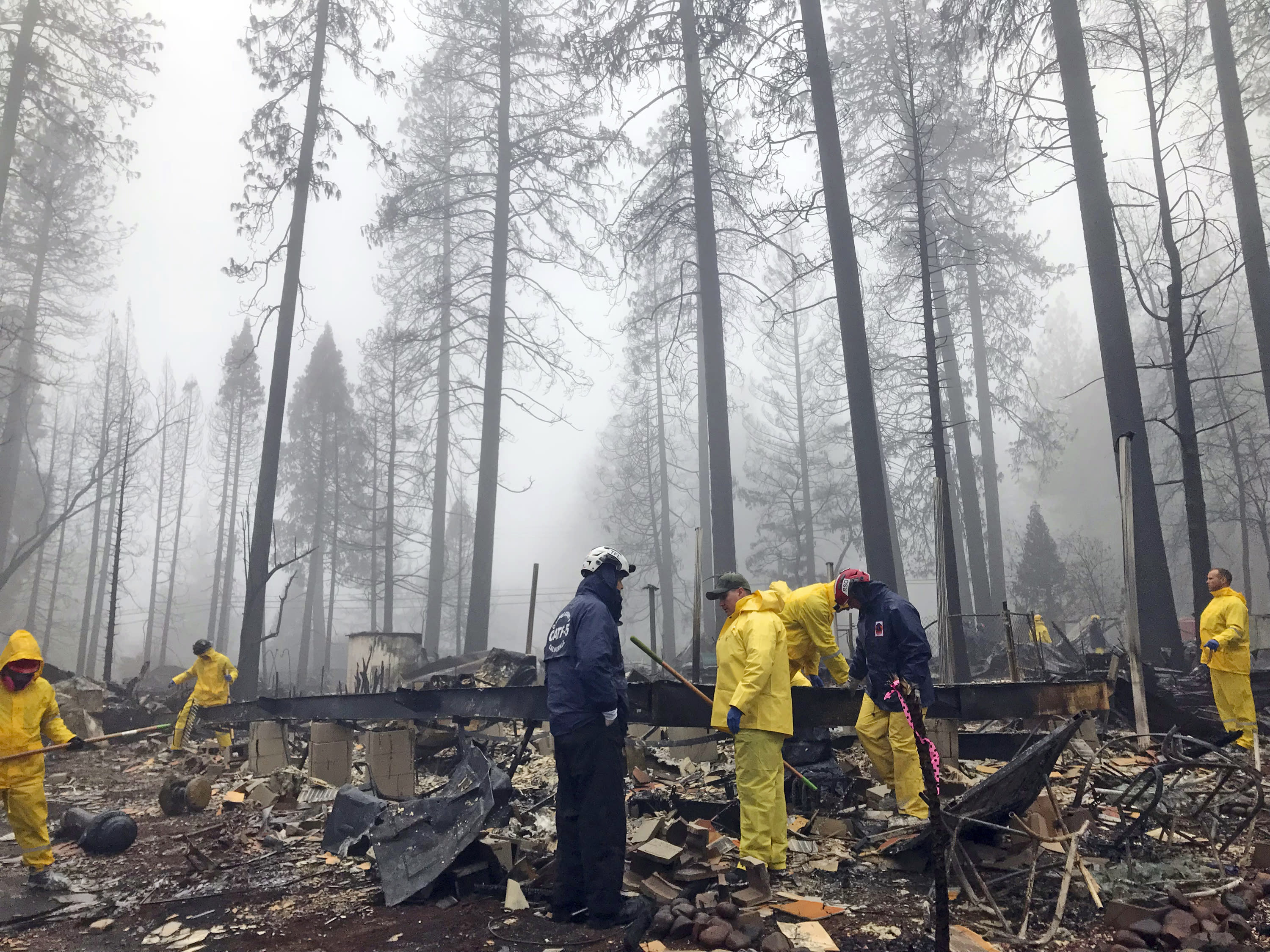 Catastrophic Northern California fire is finally contained