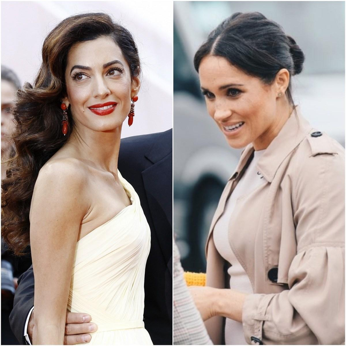 Here's What Meghan Markle and Amal Clooney Secretly Talk About