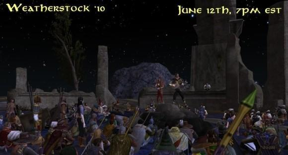 Weatherstock '10 takes the stage in LotRO this Saturday