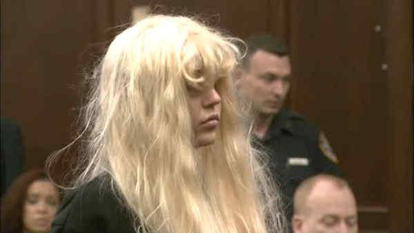Amanda Bynes appears in New York City court on drug charges