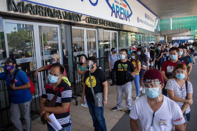 Philippines confirms 1,987 new coronavirus infections, 65 deaths