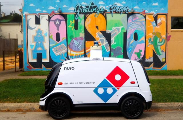 Domino's starts making autonomous pizza deliveries