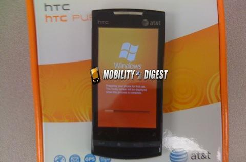 HTC Pure starting to show up in AT&T stores, not for sale just yet