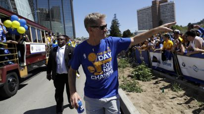 Steve Kerr 'fully expects' to coach the Warriors all season and 'for many years'