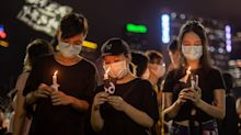 Thousands in Hong Kong defy ban to mark Tiananmen anniversary