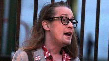 Macaulay Culkin Is Barely Recognizable Wearing Nail Polish and Hipster Eyeglasses
