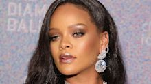 Rihanna Wore Fenty Beauty's New Diamond Bomb to the Diamond Ball, Of Course