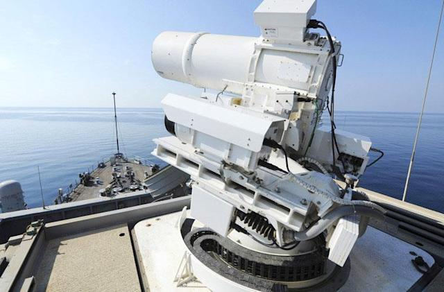 UK Ministry of Defence is now investing in laser weapons too