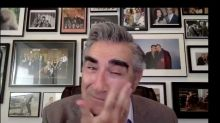 Eugene Levy Tearfully Watching His Lifetime Achievement Award Tribute Is Pure Joy