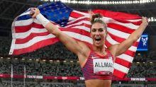 終於!美國在鐵餅拿到東奧田徑首金