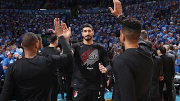 Blazers' Enes Kanter has a message for the Knicks and every team that didn't pick him