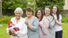 Family becomes one of the only in the UK to have six generations alive at same time