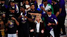 Lakers' Jeanie Buss becomes first female controlling owner to win championship