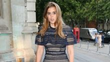 Princess Beatrice shows that even royals suffer from wardrobe malfunctions