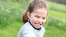 Trio of new Princess Charlotte photos released to celebrate fourth birthday