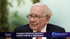 Warren Buffett weighs in on potential Howard Schultz presidential run, Trump-like business executives running for president